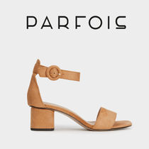 PARFOIS Open Toe Lace-up Casual Style Shoes