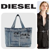 DIESEL Casual Style Street Style Totes
