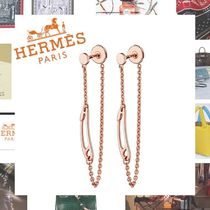 HERMES Chaine dAncre Elegant Style Earrings & Piercings