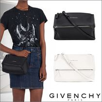 GIVENCHY PANDORA Casual Style Unisex 2WAY Leather Shoulder Bags