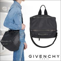 GIVENCHY PANDORA Casual Style Unisex Calfskin 2WAY Shoulder Bags