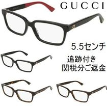 GUCCI Unisex Blended Fabrics Optical Eyewear