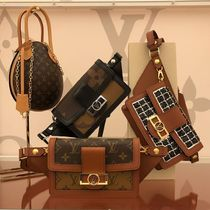 Louis Vuitton BUMBAG Other Check Patterns Blended Fabrics 2WAY Elegant Style