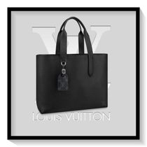 Louis Vuitton Unisex 2WAY Plain Leather Totes