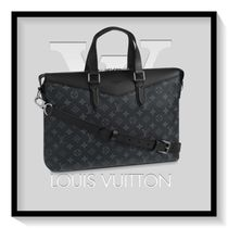 Louis Vuitton Monogram Canvas Blended Fabrics A4 2WAY