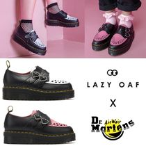LAZY OAF Heart Round Toe Loafer Pumps & Mules