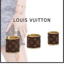 Louis Vuitton 2019-20AW WILD LV RINGS SET brown small medium ring