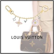 Louis Vuitton 2019-20AW BLOOMING FLOWERS CHAIN BAG CHARM gold one holders
