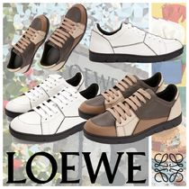 LOEWE PUZZLE Leather Sneakers