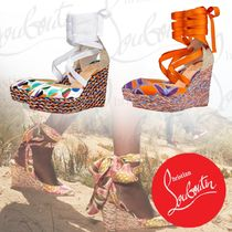 Christian Louboutin Casual Style Street Style Platform & Wedge Sandals