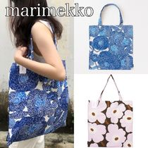 marimekko Flower Patterns Casual Style Bag in Bag A4 Totes