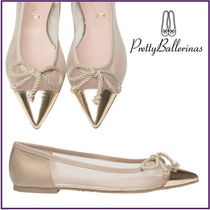 Pretty Ballerinas Plain Ballet Shoes