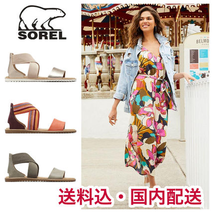 Casual Style Blended Fabrics Street Style Plain Leather