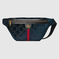 GUCCI Casual Style Blended Fabrics Leather Home Party Ideas