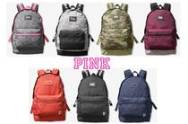 Victoria's secret PINK Casual Style Street Style Collaboration Backpacks
