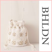 BHLDN Flower Patterns Tassel With Jewels Party
