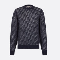 Christian Dior Street Style Long Sleeves Sweaters
