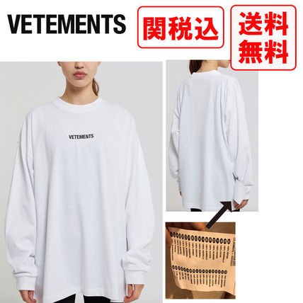 VETEMENTS More T-Shirts T-Shirts