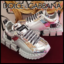 Dolce & Gabbana Rubber Sole Casual Style Street Style Plain Dad Sneakers