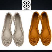 Tory Burch Suede Ballet Shoes