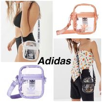 adidas Casual Style Unisex Street Style Plain Shoulder Bags