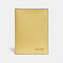 Coach Unisex Plain Leather Wallets & Small Goods