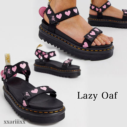 Heart Blended Fabrics Street Style Collaboration Sandals