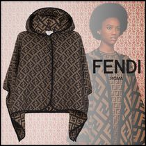 FENDI Monogram Ponchos & Capes