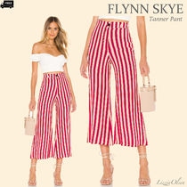 Ron Herman Stripes Casual Style Long Handmade Culottes & Gaucho Pants