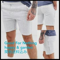 GOOD FOR NOTHING Sweat Street Style Joggers Shorts
