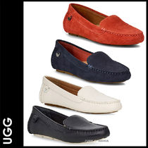 UGG Australia Casual Style Plain Leather Loafer Pumps & Mules