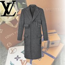 Louis Vuitton Wool Long Coats