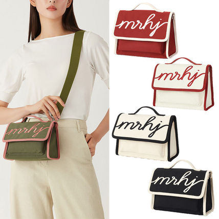 Casual Style Street Style 2WAY Plain Crossbody Logo