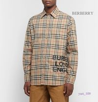 Burberry Street Style Cotton Shirts