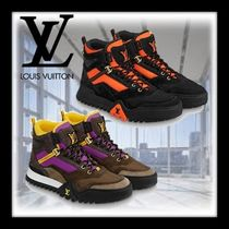 Louis Vuitton Mountain Boots Unisex Street Style Leather Outdoor Boots