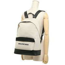 BALENCIAGA CABAS Unisex Plain Elegant Style Backpacks