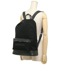 BALENCIAGA CABAS Unisex A4 Plain Elegant Style Backpacks