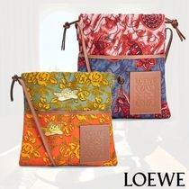 LOEWE Flower Patterns Star Unisex Canvas 2WAY