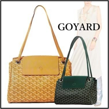 THE ROUETTE yellow green handbags