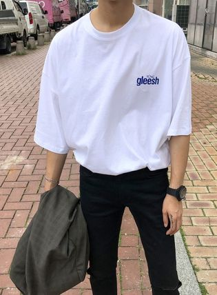 ASCLO More T-Shirts Street Style Cotton Short Sleeves Oversized T-Shirts 6