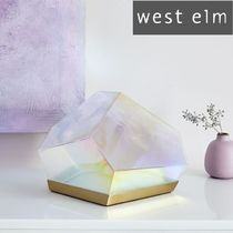 west elm Gold Furniture Lighting