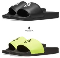 Marcelo Burlon Street Style Shower Shoes Shower Sandals