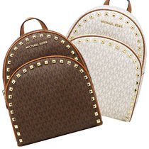 Michael Kors Casual Style Studded Backpacks