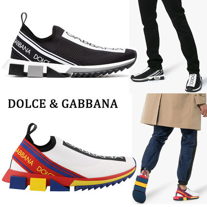 Blended Fabrics Street Style Loafers & Slip-ons