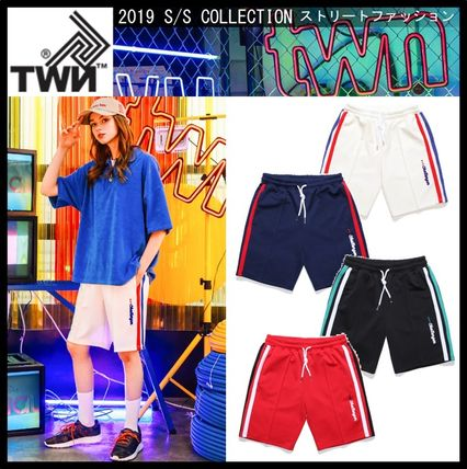 2b8acce8a6f2d TWN 2019 SS Casual Style Unisex Street Style Shorts by Seoul_Channel ...