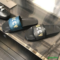 GUCCI Unisex Street Style Collaboration Shower Shoes