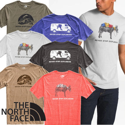 THE NORTH FACE Crew Neck Crew Neck Short Sleeves Crew Neck T-Shirts
