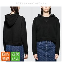 Stella McCartney Rib Long Sleeves Plain Cotton Hoodies & Sweatshirts