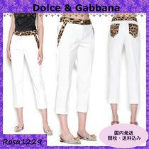 Dolce & Gabbana Cotton Skinny Pants