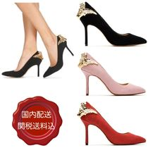 Katy Perry Suede Blended Fabrics Pin Heels Party Style